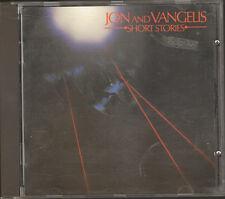 JON & and VANGELIS 1st Print 10 track CD Short Stories YES 1980-1983