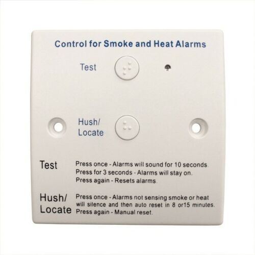 Kidde REMTH 230V Remote Control Switch with Test & Hush Home ...