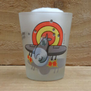 """AIRPORT IN THE SKY - CATALINA ISLAND """"Shot Glass"""" orig."""