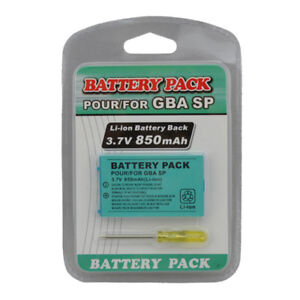 New-Rechargeable-Battery-for-Nintendo-Game-Boy-Advance-SP-Screwdriver-850mAh