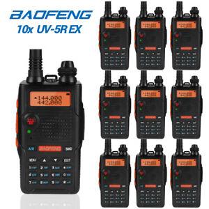 10x-Baofeng-UV-5R-EX-2m-70cm-Band-V-UHF-Two-Way-Radio-CTCSS-DCS-FM-Transceiver