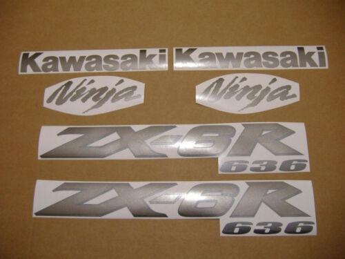 ZX-6R 2004 ninja decals stickers graphics set kit pegatinas adhesivos zx6r 636