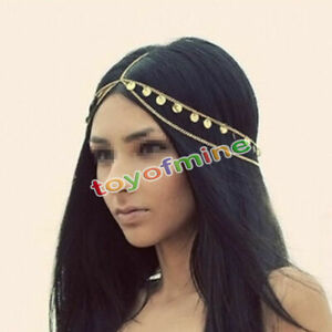 Women-Fashion-Metal-Rhinestone-Head-Chain-Jewelry-Headband-Head-Piece-Hair-band