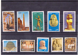 """Egypt Египет Ägypten 2004 """"MNH"""" Full set of common Stamps"""" 10 stamps"""