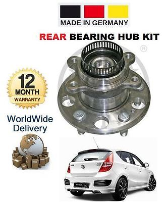 FOR HYUNDAI i30 I30 1.4DT 1.4 1.6DT 2.0DT CRDi 2007-> REAR WHEEL BEARING HUB KIT
