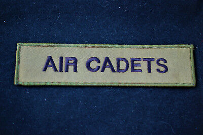 No682 Pocket  Sew On Patch Air Cadets Royal Air Force