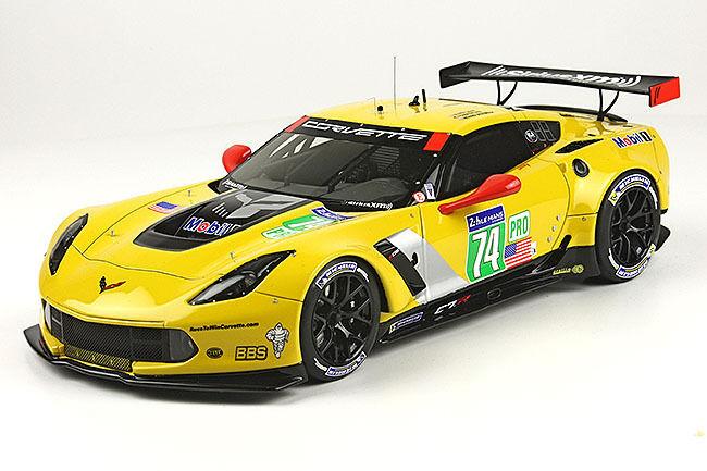 2014 Corvette C7.R  74 Le Mans 6th LMGT Pro class 1 18 scale Model BBR  P1898
