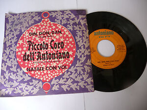 PICCOLO-CORO-ANTONIANO-034-DIN-DON-DAN-disco-45-giri-RIFI-It-1968-034-RARO