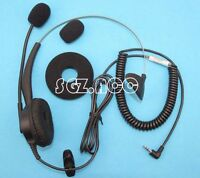 2.5mm Jack Universal Hands Free Headset For Sanyo Scp-3000 Scp-4000 Scp-4900