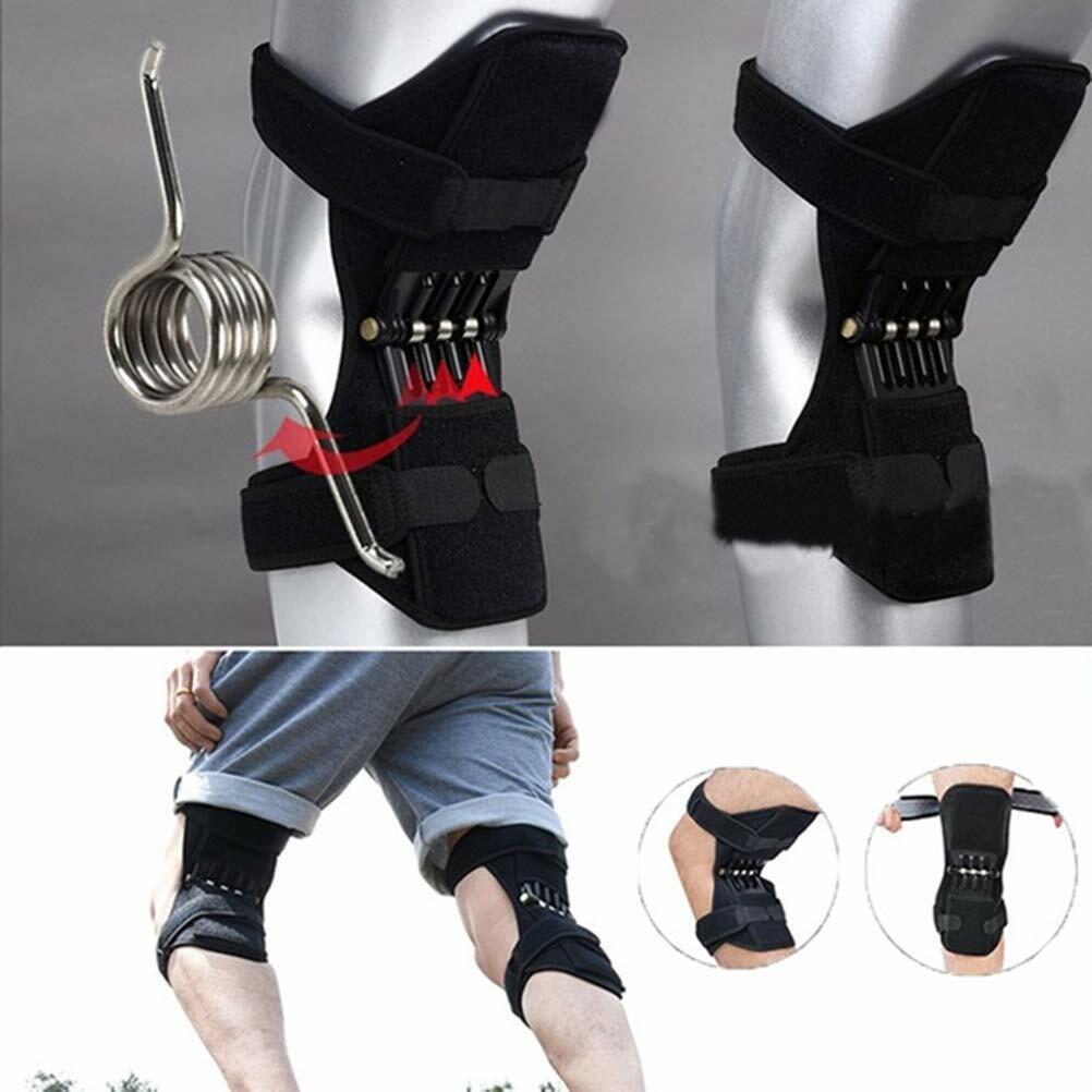 Knie Booster Spring Knieschoner Tibial Kniegelenkschutz Mit Klettverschluss
