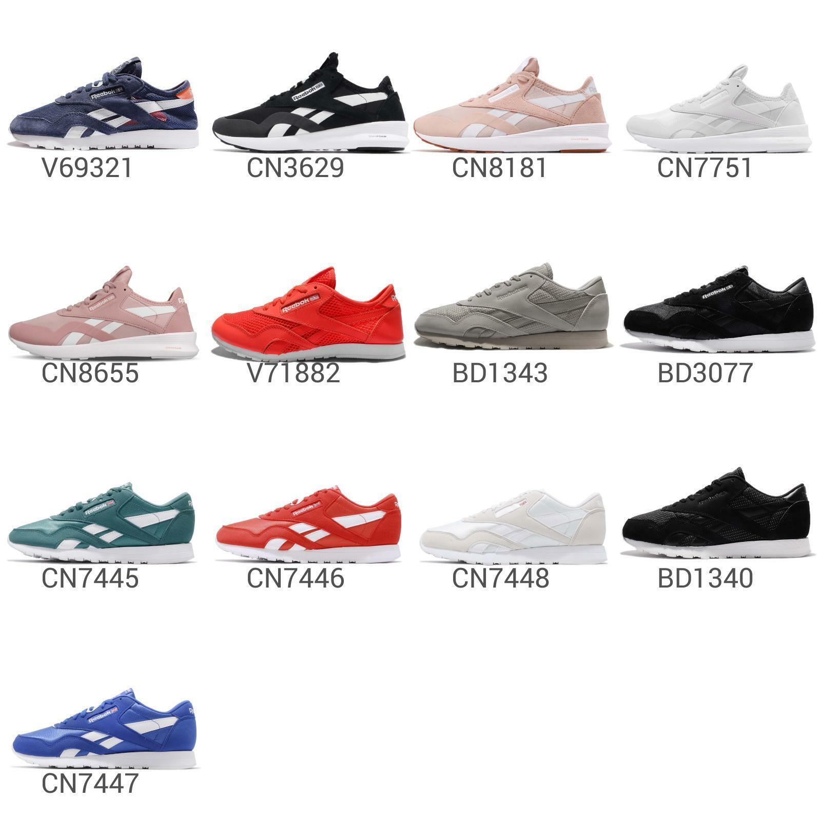 Reebok CL Nylon   SP Men   mujer Classic Trainers zapatillas zapatos Pick 1