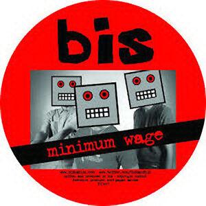 Bis-Minimum-Wage-NEW-MINT-Ltd-edition-PICTURE-DISC-7-034-vinyl-single-RSD-2014