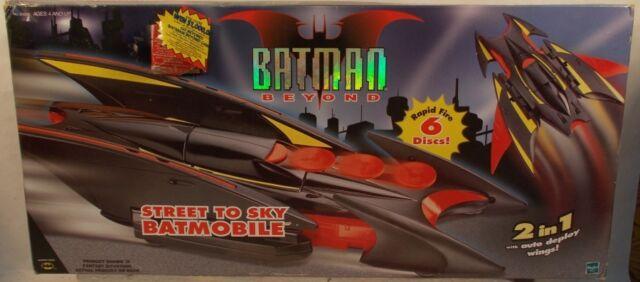 Batman Beyond Street to Sky Batmobile Transforms To Air Assault Vehicle C-7 MISB