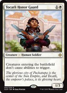 Tocatli-Honor-Guard-x4-Magic-the-Gathering-4x-Ixalan-mtg-card-lot