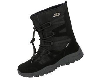 brand new c98d1 71b5d Details zu Lico Winterstiefel Cheyenne Trekking Outdoor Stiefel Schuhe  schwarz