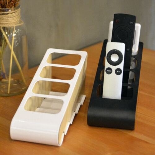 Desktop Tidy Storage Box TV Air Remote Control Holder Rack 4 Grid Organizer Case