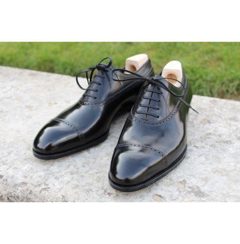 MEN HANDMADE FORMAL Schuhe REAL LEATHER BROGUE  BLACK DRESS DRESS DRESS Schuhe 2c7116