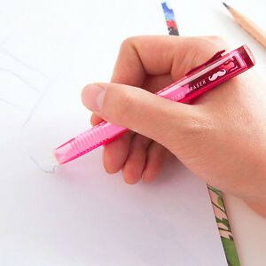 High-Quality-Pencil-Eraser-in-Pen-Shaped-Barrell-Rubber-for-Artist-School-Office