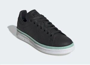 ADIDAS-Originals-Stan-Smith-New-Bold-Women-039-s-Casual-Sneakers-Black-sz-5-5-10