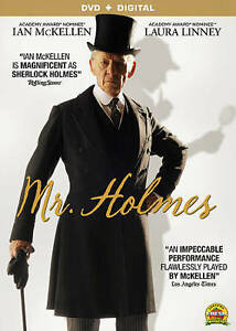 Mr-Holmes-DVD-Digital-Very-Good-DVD-Hiroyuki-Sanada-Milo-Parker-Laura-Li