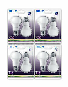 8xphilips-Lampe-Led-E27-remplace-40W-470lm-15000h-mat-6kWh-1000H-Blanc-chaud