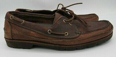 Gokey for Orvis 12 D Brown Leather Boat
