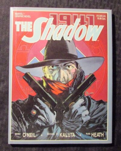 1988 The SHADOW 1941 HC//DJ Marvel Graphic Novel VF//NM Kaluta Heath