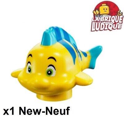 Lego 1x Animal poisson mer fish polochon petite sirène fabius 15679pb01 NEUF