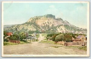Trinidad-Colorado-Simpson-039-s-Rest-View-Down-Main-Street-Wooden-Fence-Right-1906