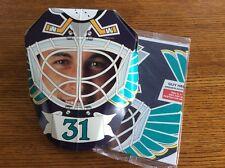 94/95 Kraft Dinner goalie mask Guy Hebert Anaheim Ducks