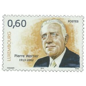 Luxembourg-2013-Pierre-Werner-politicien-neuf-sans-charniere