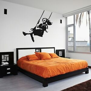 Banksy-Girl-Swinging-Wall-Decal-for-Home-Decor-Interior-Design-Bedroom