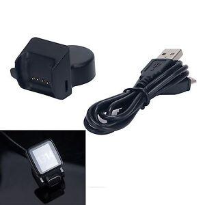 USB-Ladegeraet-Ladekabel-Dock-fuer-TomTom-Multi-Sport-Runner-Cardio-GPS-Uhr-Watch