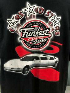 Mid America Motorworks >> Details About Corvette Mid America Motorworks Funfest 2010 Xl T Shirt