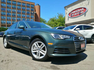 2017 Audi A4 LEATHER   ROOF   CAR PLAY   QUATTRO   4 NEW SNOW TIRES*  