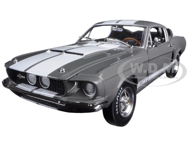1967 Ford Shelby Mustang Gt350 gris 50 Ann. Ltd 1002pc 1 18 Autoworld amm1060