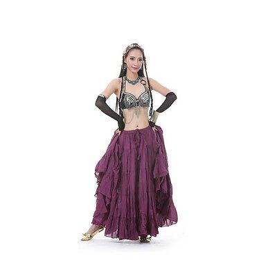 SK21# Bohemia Belly Dance Costume Tribal Skirt 8/16Meter Big Skirt 13 Colors