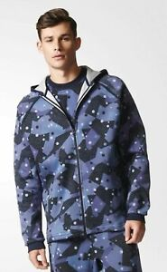 408a9c92cd7ae Adidas Men s Splinter Camouflage NMD Hoodie Hoody New BK2215 Size M ...