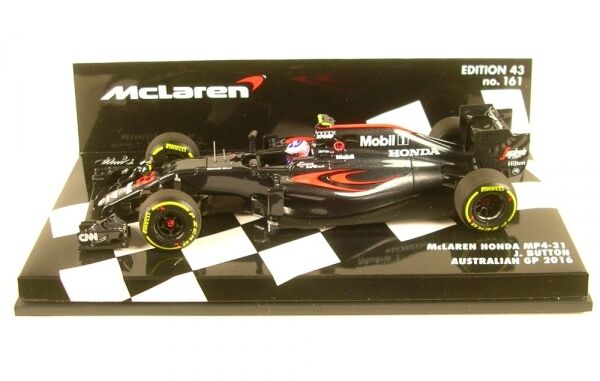 McLaren Honda MP4-31 No.22 Australien GP Formula 1 2016 (Bouton De Sarah)