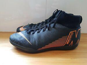Nike-MERCURIAL-SUPERFLY-superflyx-6-Club-Scarpe-da-ginnastica-indoor-ref5P7-Taglia-5-Bambino-Astro