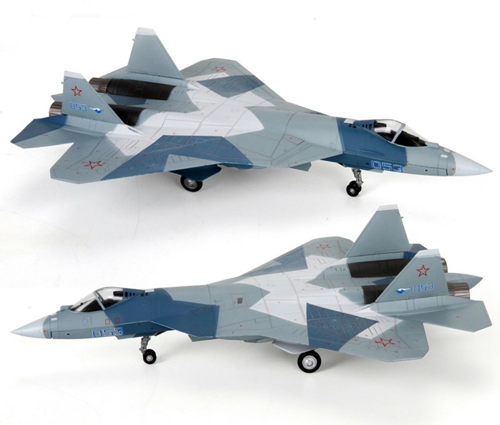 AF1 1 72 ruso Sukhoi T-50 (Su-57) Modelo Diecast Fighter
