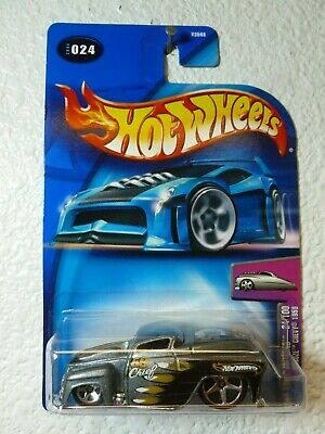 2004 HARDNOZE CHEVY 1959 Hot Wheels Card #024 First Edition