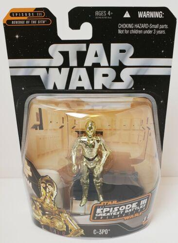 New 2006 Star Wars EIII GREATEST BATTLES ROTS case fresh *combine shipping* MOC