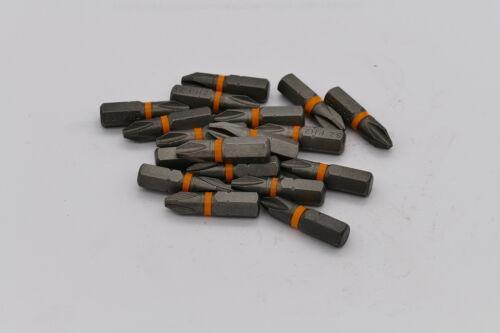 10 Stück PH1 Bit S2 Stahl 25 mm kreuz bits RESTPOSTEN