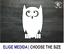BUHO OWL BIRD ANIMAL VINILO PEGATINA VINYL STICKER DECAL AUFKLEBER ADESIVI