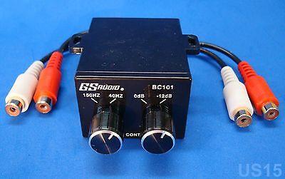 HOME STEREO PRE AMP DUAL KNOB CONTROL SOUND AUDIO EQ SIGNAL EQUALIZER RCA PREAMP