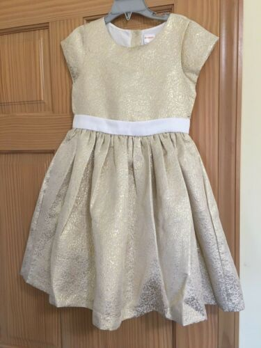 NWT Gymboree Gold Dress Holiday Christmas Girls Outlet 4,5,6,7,8,10,12