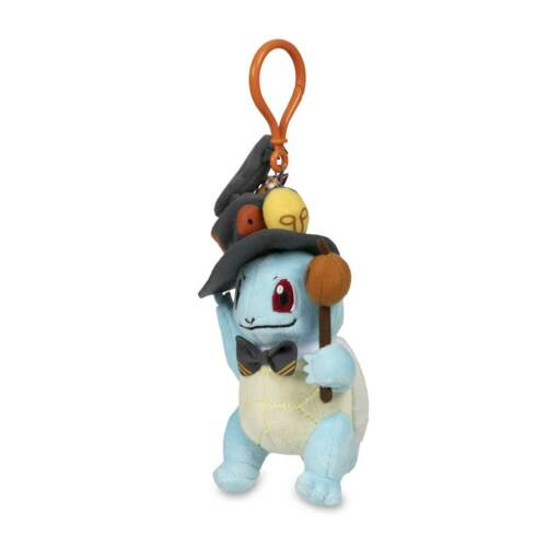 2019 Pokemon Squirtle Pumpkin Parade Pokemon Plush Key Chain Halloween Gift