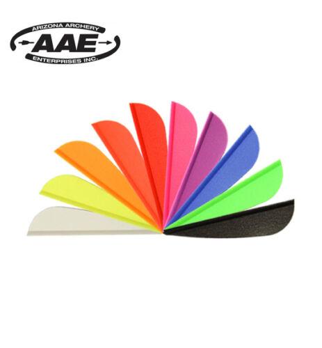 Fletchings AAE Elite Plastifletch EP16 Archery Arrow Vanes Qty 12
