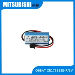 1x MITSUBISHI Q series PLC battery Q6BAT (CR17335SE-R/3<wbr/>V)